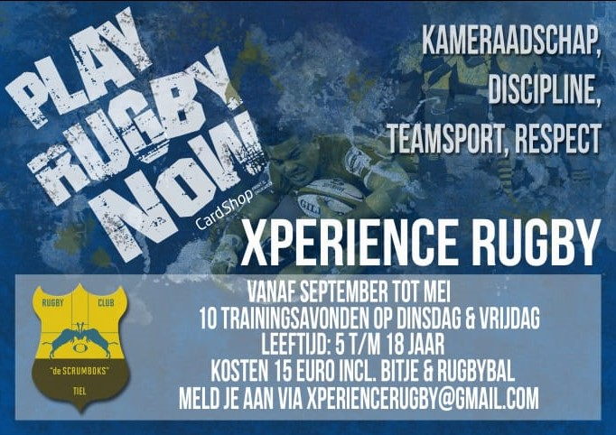 Xperience Rugby Flyer